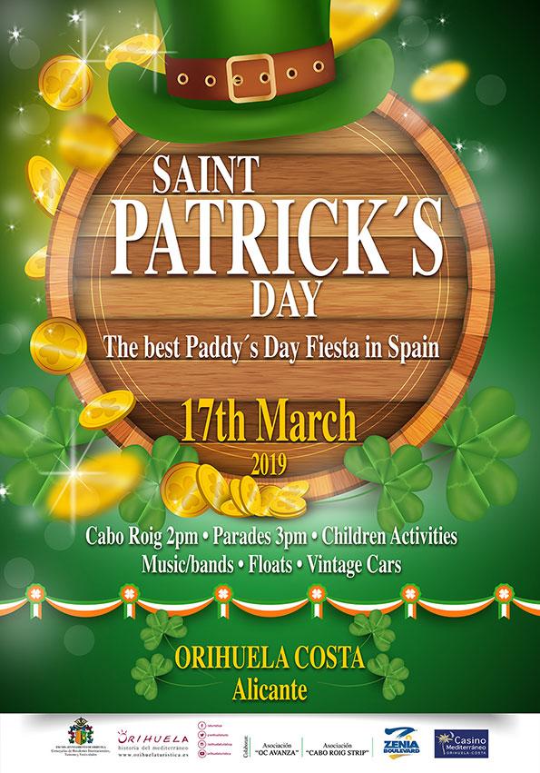 Ven y disfruta Saint Patrick,S Day con nosotros